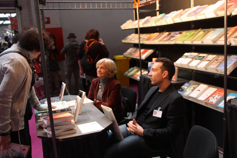 Agnès SAUTOIS et Pascal RIOLO en dédicace